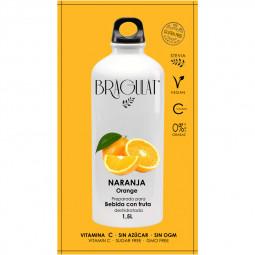 Bebida instantánea de naranja