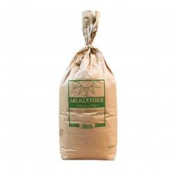 arcilla verde fina, granel saco de 25 kilos